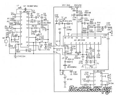 Переговорные устройства.  Категория.  Радиоканалы многих беспроводных телефонов работают на частотах диапазона 45-50...