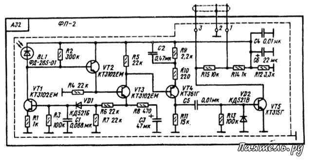 Схема пульта дистанционного