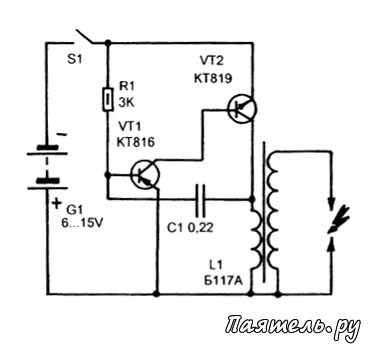 Как сделать блок генератор 650