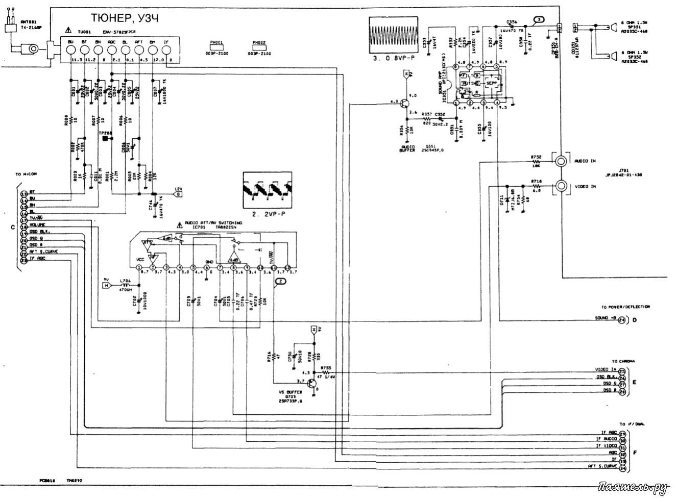 структурная схема холодильника акустическая