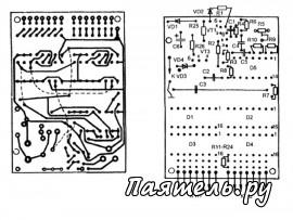 Схема цифрового автомобильного тахометра