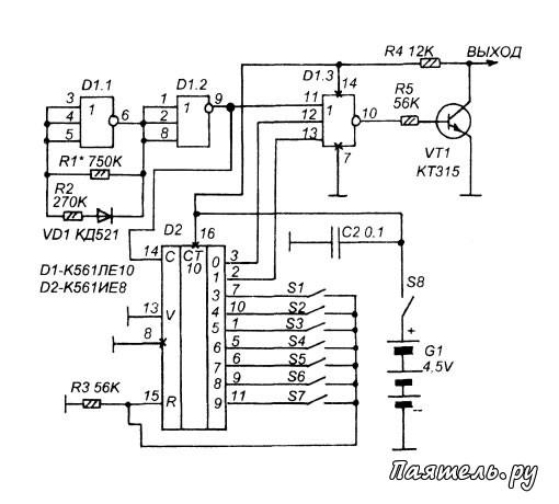Данная система радиоуправления
