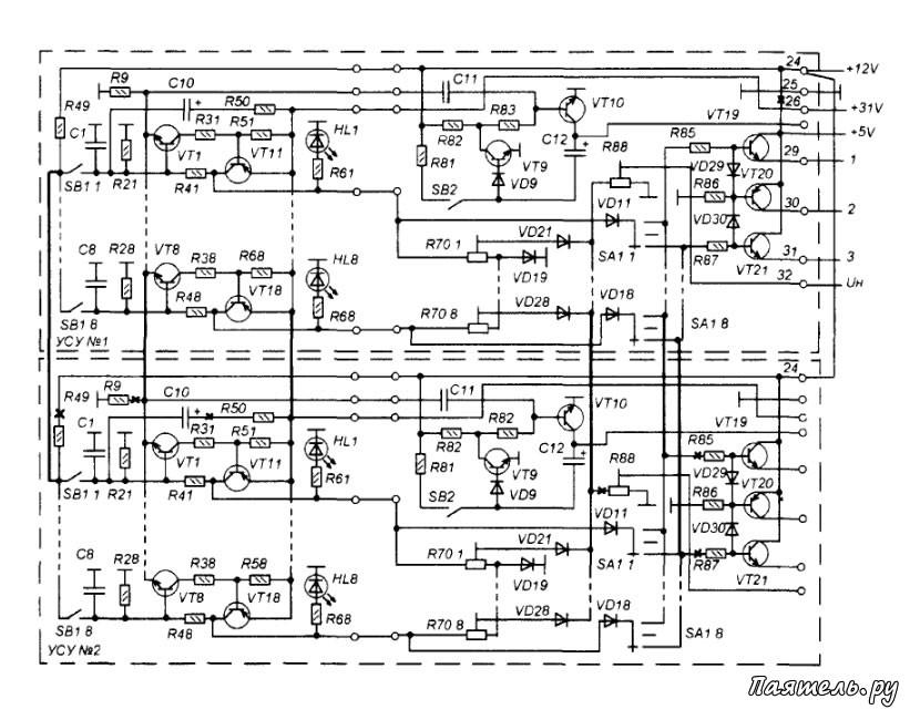 Схема всеволнового УКВ-тюнера