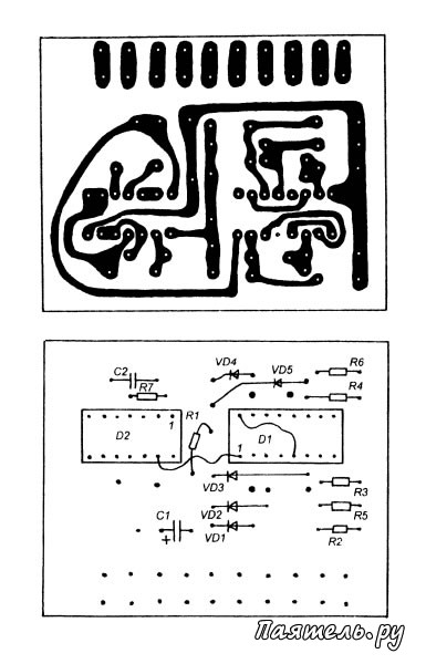 Схема клавиатурного кодового