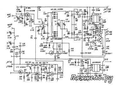 CW-SSB Трансивер прямого преобразования