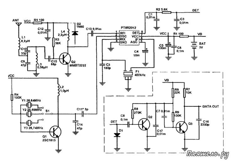 PT8R2012 - микросхема
