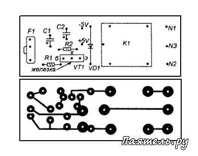 в электрической схеме показанной на рисунке ключ
