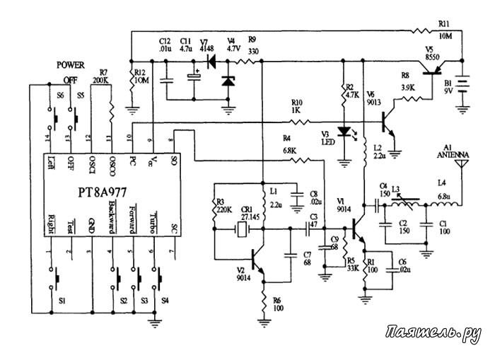 Микросхемы PT8A977 и PT8A978