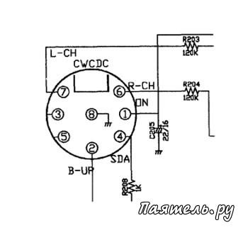 Схема подключения автомагнитолы дома