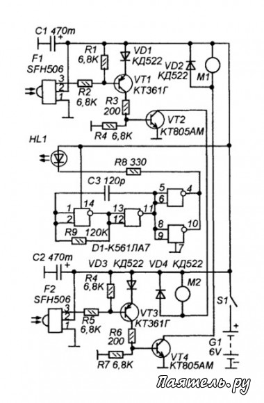 Электрическая схема зил дизель