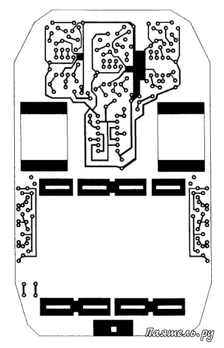 Схема простой игрушки робот-