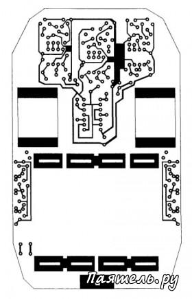 Схема простой игрушки робот-жук.