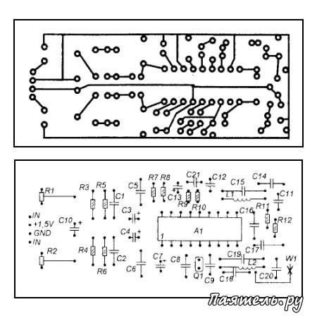 Схема беспроводного удлинителя