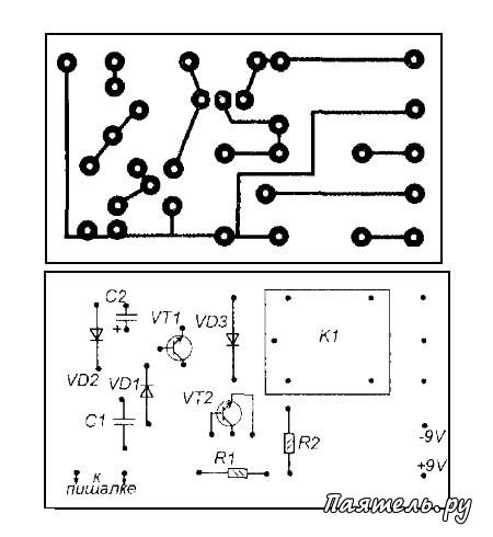 Схема управляемого таймера