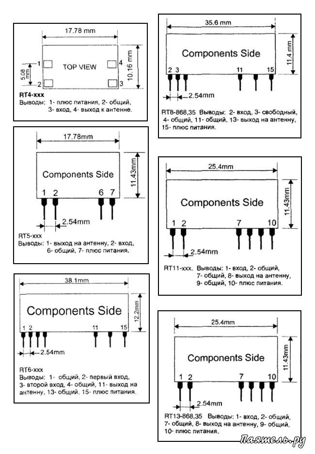 микросборки передатчиков и