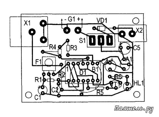 Схема тестера пультов ДУ на ИК