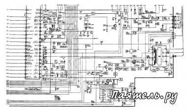 Схема антенного телевизионного усилителя