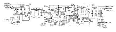 Схема тракта КВ-Трансивера 500 кГц
