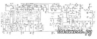 Схема радиоприемного тракта на КФ1066ХА2